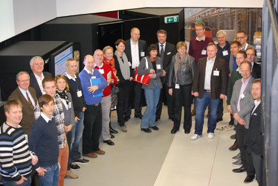 Some of the participants at the GS1 Smart Centre